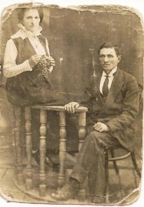 Elkeh and Melekh as a young couple pre -revolution i.e -before 1917